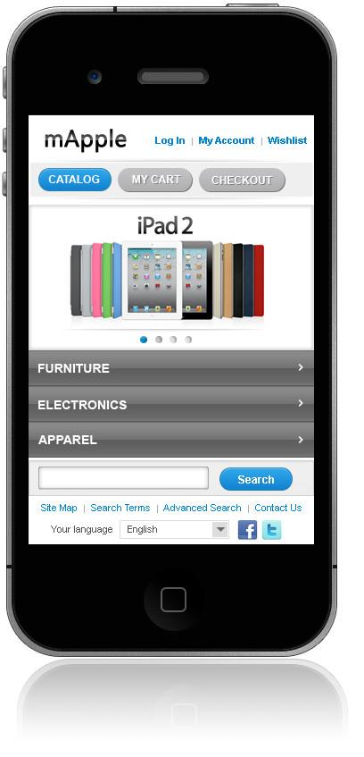 mApple Iphone Theme (Free)