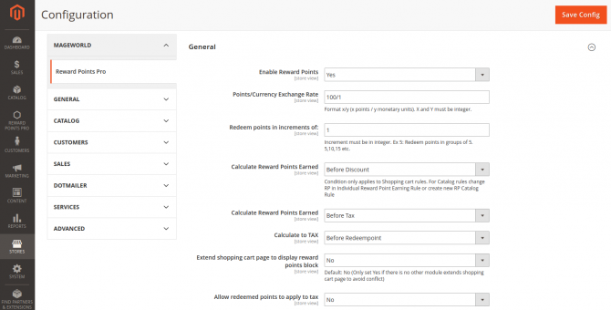 General Configuration On Backend