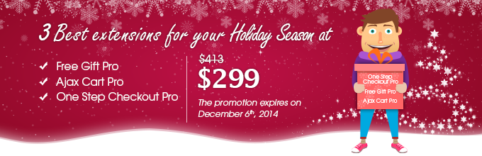 Trigger Holiday Sales By 3 Best Extensions At Only $299