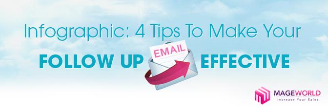 Infographic: 4 Useful Tips To Make Your Follow Up Email More Effective