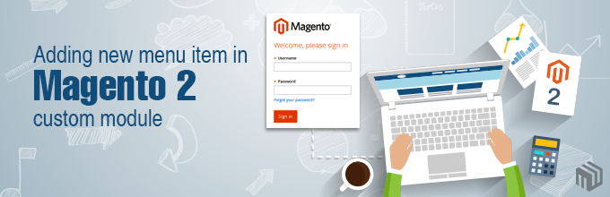Adding new menu item in Magento 2 custom module
