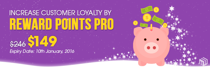 Increase Customer Loyalty by Reward Points Pro with only $149