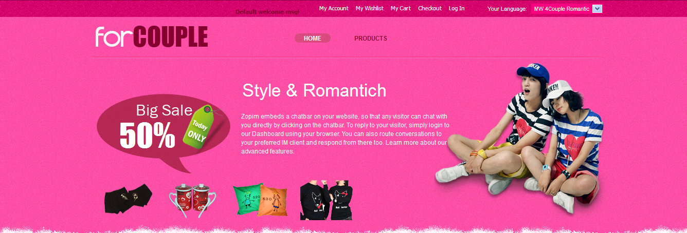 Let our customers be flooded with romantic love using MW 4Couple by MageWorld!