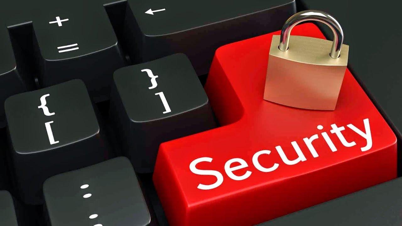 a red lock symbolizes maximum security