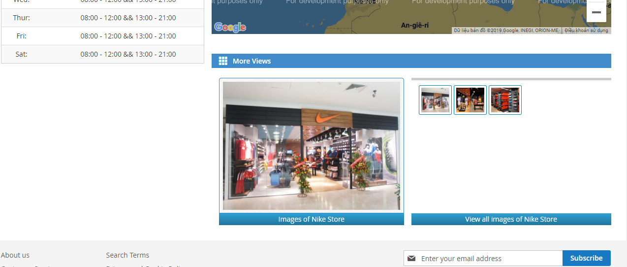 Display the information and images for Magento 2 Store Locator