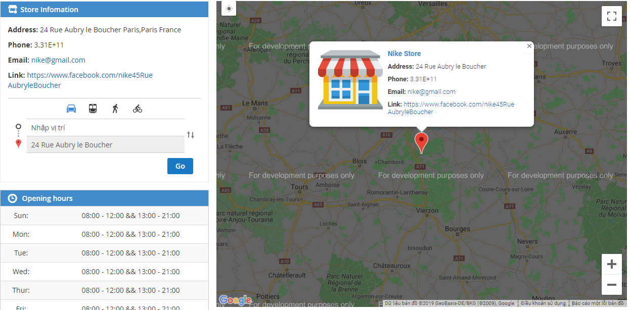 Display the nearest offline stores for Magento 2 Store Locator
