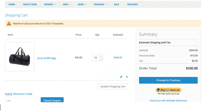 Notify customers for Magento 2 Coupon Discount